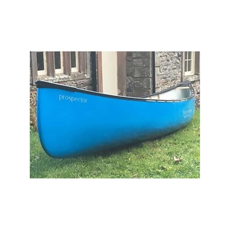 16ft Prospector Open Canoe - Blue