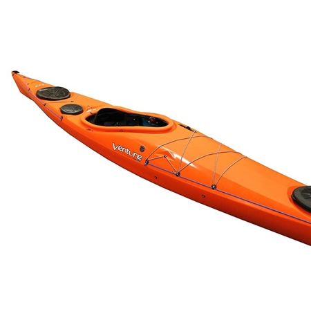 Venture Jura HV Trilite Connect Performance Kayak with Skeg  - Click to view a larger image