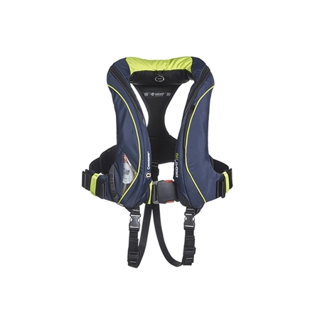 Crewsaver Ergofit+ 190N Automatic Harness Lifejacket with Light & Hood  - Click to view a larger image