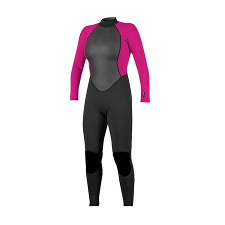 O'Neill Women's Reactor 3/2mm Back Zip Full Wetsuit  - Click to view a larger image