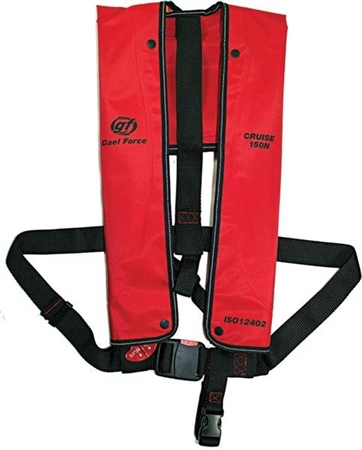 Gael Force Cruise ISO 150N Lifejacket - Manual  - Click to view a larger image