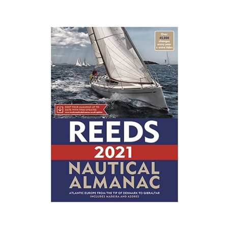 Reeds Nautical Almanac 2021  - Click to view a larger image